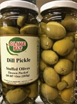 Dill Pickle Stuffed Olives