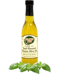Olive Pit Basil Flavored Mission Olive Oil