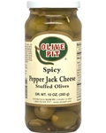 Pepper Jack Cheese Stuffed Spicy Olives