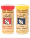 Garlic Festival Mustards