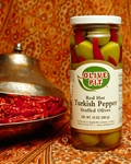 Turkish Pepper Stuffed Olives
