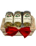 Stuffed Trio Gift Basket #4