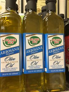 Olive Pit Organic Arbosana  - Local 1st Cold Pressed Extra Virgin Olive Oil