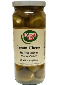 Cream Cheese Stuffed Olives
