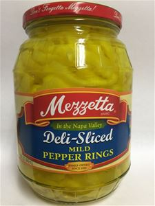 Mezzetta Sliced Banana Wax Peppers