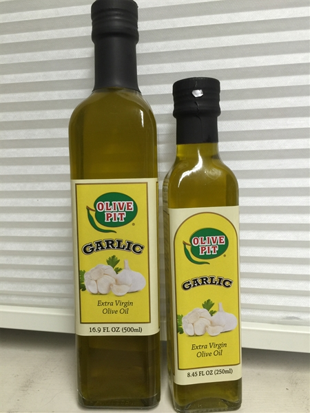 Olive Pit Garlic Extra Virgin Olive Oil