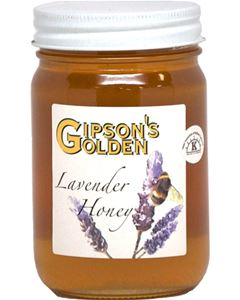 Gipson's Golden Lavender Honey