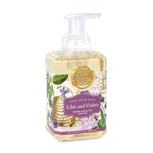 Lilac and Violets Foaming Shea Butter Hand Soap with Olive Oil