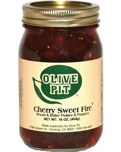 Cherry Sweet Fire Bread and Butter Pickles