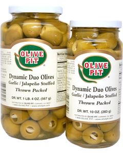 Dynamic Duo Thrown Pack - Jalapeño & Garlic