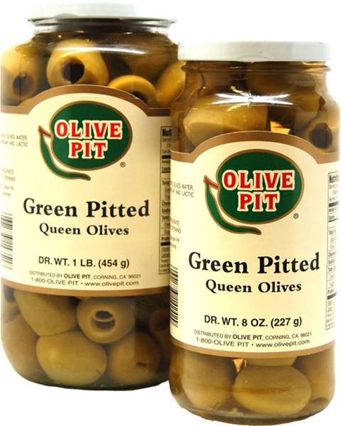 Green Pitted (Queen - Lg)