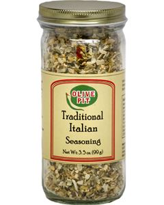 Olive Pit Traditional Italian Seasoning