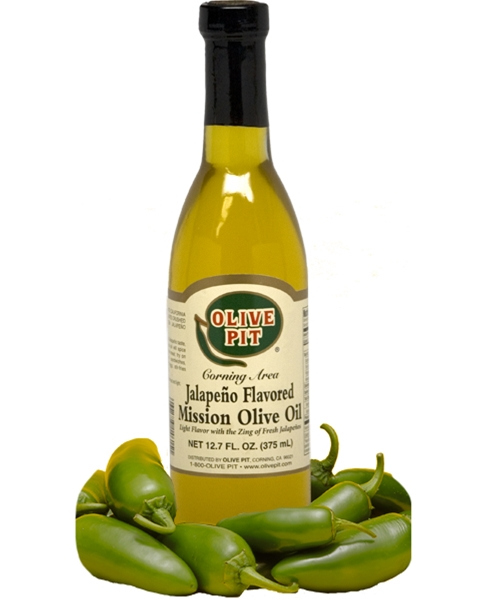 Olive Pit Jalapeno Flavored Mission Olive Oil