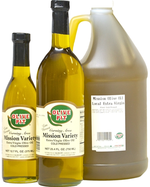 Olive Pit Mission Variety - Local 1st Cold Pressed Extra Virgin Olive Oil
