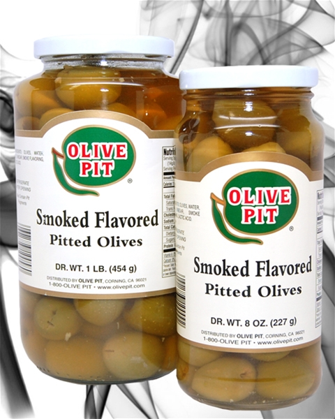 Smoked Olives Pitted