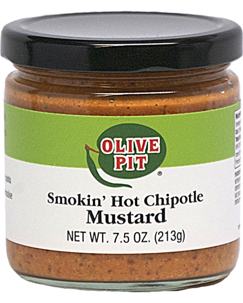 Olive Pit Smokin' Hot Chipotle Mustard