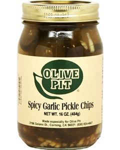 Spicy Garlic Pickle Chips