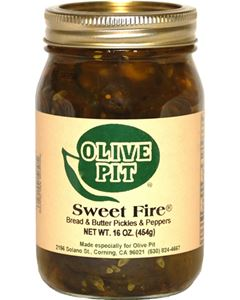 Sweet Fire Bread and Butter Pickles