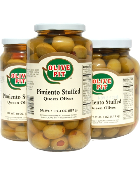 Pimiento Stuffed - Thrown Pack (Queen - Lg)