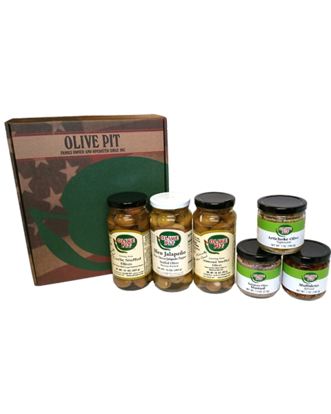 Olive & Tapenade Gift Box