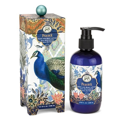 Peacock Hand and Body Lotion