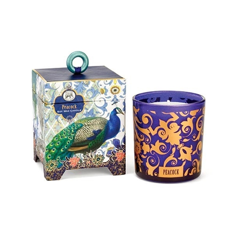 Peacock Soy Wax Candle