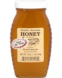 Pendell's Mountain  1 lb. Honey