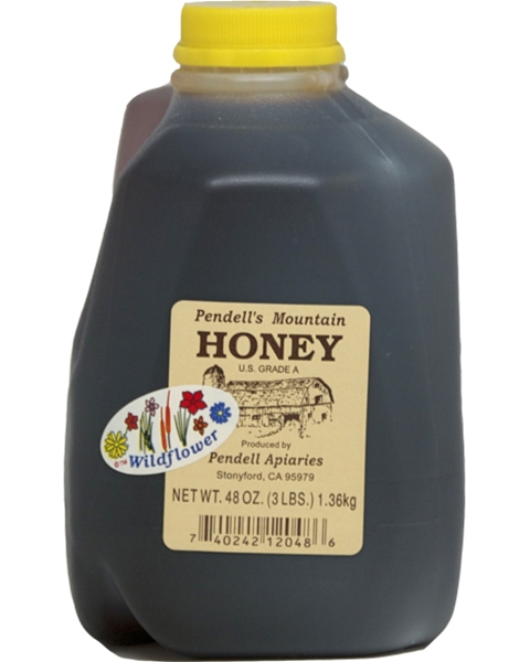 Pendell's Mountain 3 lb. Honey