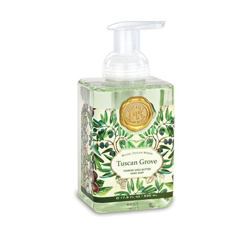 Tuscan Grove Foaming Shea Butter Hand Soap with Olive Oil