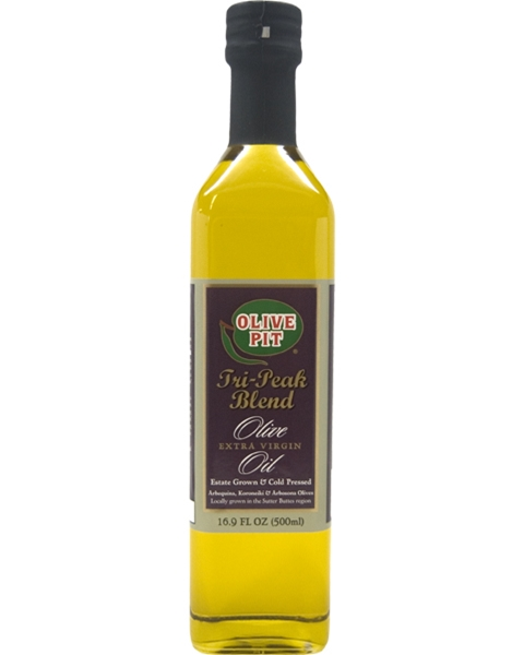 Olive Pit Tri-Peak Blend 1st Cold Pressed Extra Virgin Olive Oil