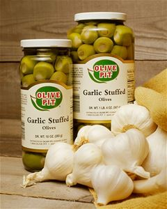 Garlic Stuffed Olives