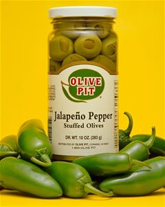 Jalapeno Stuffed Olives