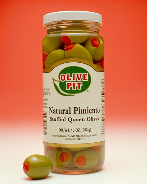 Natural Pimiento Stuffed Olives