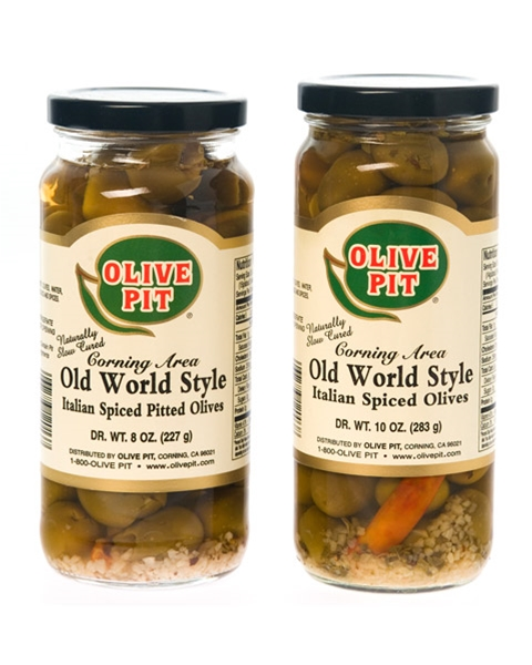 Old World Style Italian Olives