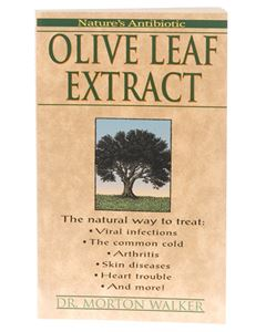 Book - Olive Leaf Extract Book
