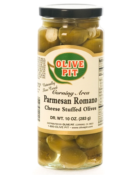 Parmesan Romano Cheese Stuffed Sicilian Olives