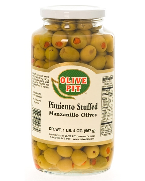 Pimiento Stuffed - Thrown Packed (Manz-Small)