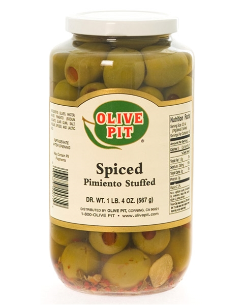 Pimiento Stuffed - Spiced (Queen-Lg)