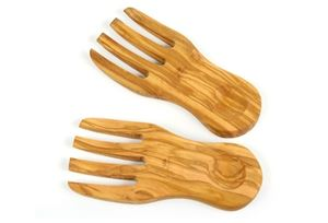 Olive Wood Salad Hands WVN2