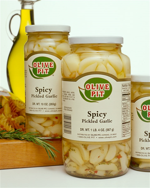 Pickled Garlic Spicy