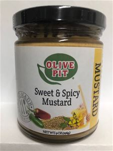 Olive Pit Sweet & Spicy Mustard