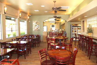 The Olive Pit Cafe Dining Room