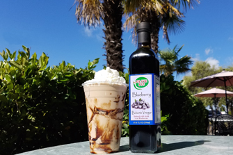 Delicious shake made with our flavored balsamic vinegars!